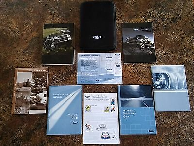 2008 Ford F150 Owners Manual w/ Case & Supplements - #Q - #R