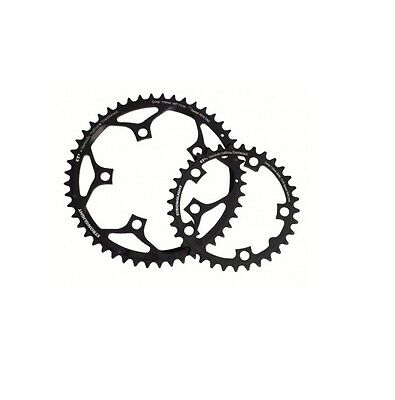 STRONGLIGHT CT2 CERAMIC TEFLON BLACK 135BCD mm CAMPAGNOLO TYPE D CHAINRING   42T