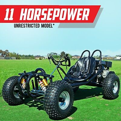 Ungoverned Faster ✩ 270cc Race Go kart ✩ Automatic off road buggy ✩ #HAE270X