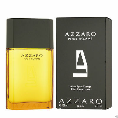 Azzaro Pour Homme After Shave Lotion 100ml Neuf en boite ✰Free Shipping✰