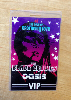 The Black Crowes and Oasis Backstage Pass - The Tour of Brotherly Love