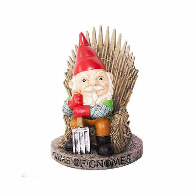 Game of Thrones Game of Gnomes Garden Stark Novelty Gift Iron Throne Ornament