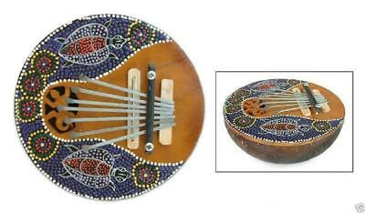 Fair Trade Balinese Thumb Piano Unusual Ethnic Musical Music Karimba Mbira R.122