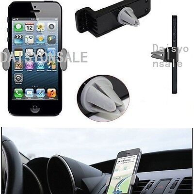 Universal Mobile Phone in Car Air Vent Mount Cradle Stand Holder For iPhone 6 5
