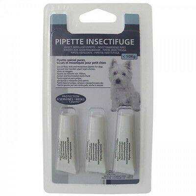 Pipette insectifuge Spot-on (x3) - Pour petit chien