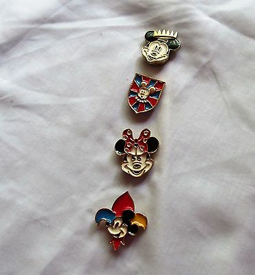 Vintage Dinsey Mickey and Minnie Button Covers