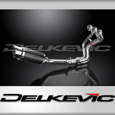 Full Exhaust Silencer 200m Round Carbon Fibre Stainless Steel MT-09 2013-2016