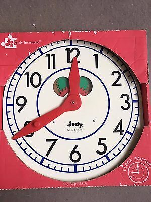 Telling Time with the Judy Primary Clock 12X12