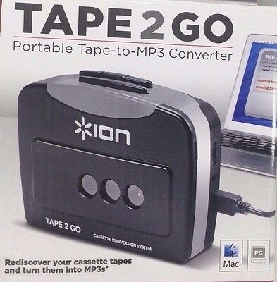 Ion Audio Cassette Tape to MP 3 Portable Tape-to-MP 3 Convertor