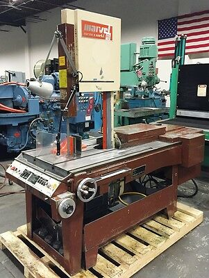"Series 8, Mark I MARVEL 18"" x 20"" Universal Vertical Band Saw (New 1988)"
