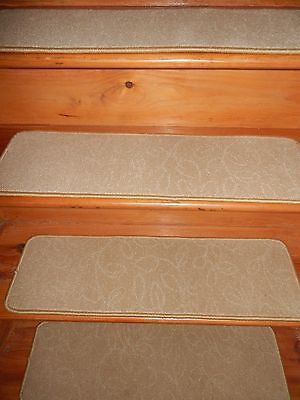 "13 STEPS 9""X 30"" + 1 Landing 30'' x 30'' Stair Treads Staircase   CARPET."