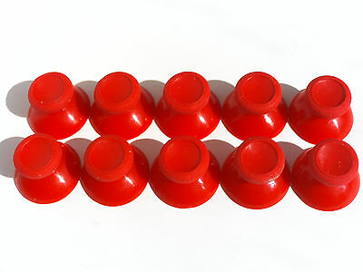 10 NEW Analog Thumbstick Thumb Stick Replacement for XBOX One Controller Red