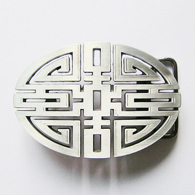 Traditional Chinese Lucky Knot Belt Buckle