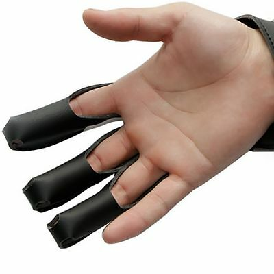 Crossbow Archery Finger Glove Protector Guard for Hunting Shooting Right Hand