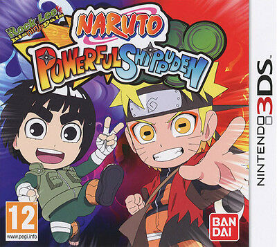Naruto Powerful Shippuden Nintendo 3DS IT IMPORT NAMCO