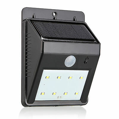 1pcs Solar Light URPOWER 8 LED Outdoor Solar Powerd Motion Activated Auto On/Off