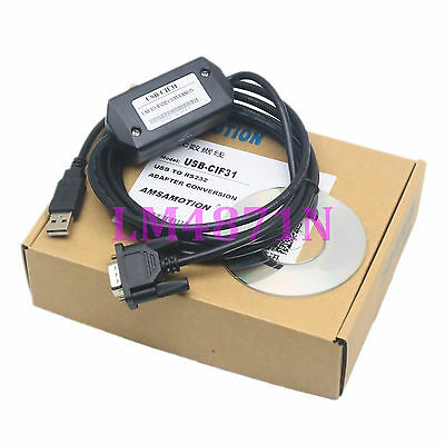 USB-CIF31 programming cable USB to RS232 conversion adapter for OMRON PLC CS1W