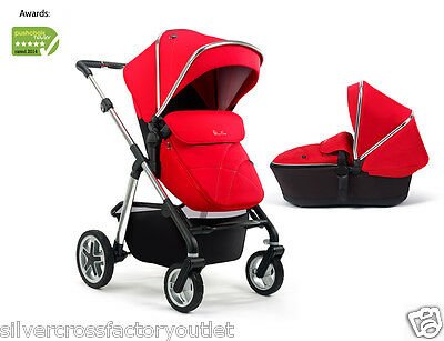 Silver Cross Pioneer Pushchair Carry Cot Any Colour Hood & Apron Vgc