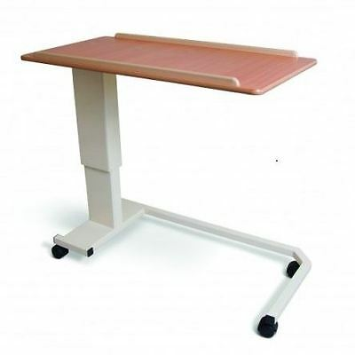 Cefndy Rise And Fall Table Wheelchair Base Disability Over Bed Table Adjustable