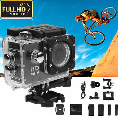 2 inch LCD 1080P Full HD Sport DV Video Recorder Action Camera Camcorder Biking