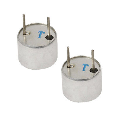 2 x Ultrasonic Sensor Transmitter 16 mm Diameter