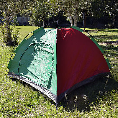 New Deluxe Instant Auto Pop Up Outdoor Waterproof Camping Tent Shelter 2X2X1.45m