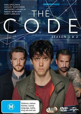 The Code : Season 1-2 (DVD, 2016, 4-Disc Set) (Region 4) Aussie Release