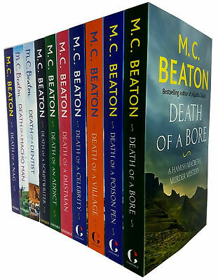 M.C. Beaton Hamish Macbeth 8 Books Collection Set Gift Wrapped Slipcase New Pack