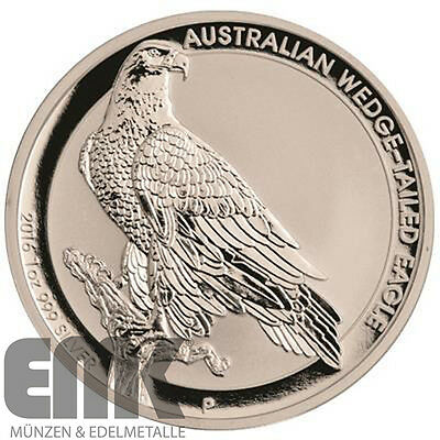 Australien - 1 Dollar 2016 - Wedge Tailed Eagle - Keilschwanzadler - 1 Oz Silber