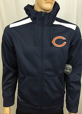 reputable site 74588 d887a NWT MEN'S NIKE Nfl Chicago Bears Salute To Service Hoodie ...
