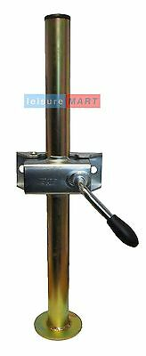 Trailer prop stand corner steady 34mm diameter X 460mm length with split clamp