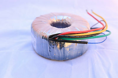 240V to 12V-0-12V 300VA Toroidal transformer (NORATEL)