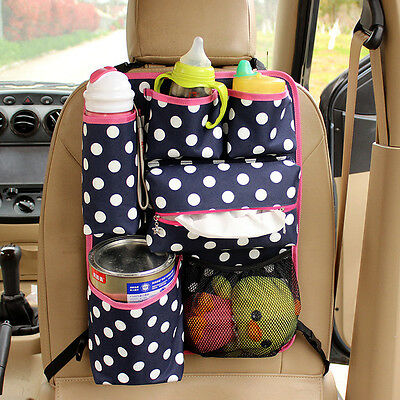 Hot Sale Car Auto Seat Back Protector Bag For Children Kick