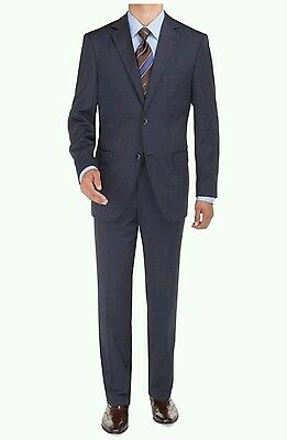 Mens/' Luxuious Wool Feel Suit 2 Button Slim Shark Skin Suit  All-Year Wear57021B