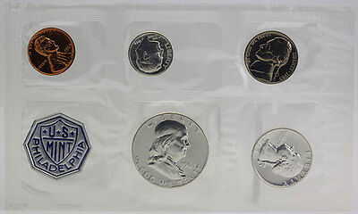 1963 P U.S. Mint Silver Proof Set Original Packaging w/ COA