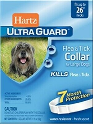 "Hartz Ultraguard Flea And Tick Large Dog Collar 26"" - White (Pack of 4)"