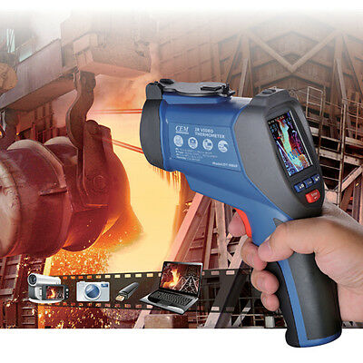 Infrared Video Thermometer