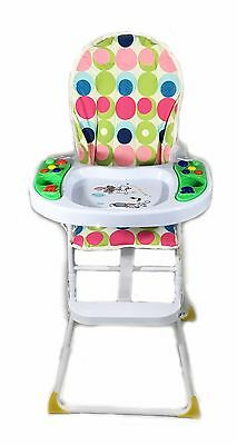 Chair Baby High Highchair Feeding Recline Adjustable Seat Height New Foldable