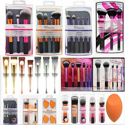 Makeup Brush Set Real Techniques Core Collection/Starter Kit/Travel Essentials