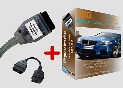 BMW Diagnose K+DCAN Interface INPA EDIABAS, NCS EXPERT codieren+K-Line+ Software