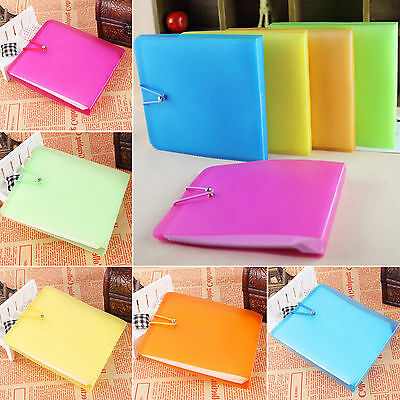 POP 12 Sleeves CD DVD Blu Ray Disc Carry Case Holder Bag Wallet Storage Cover