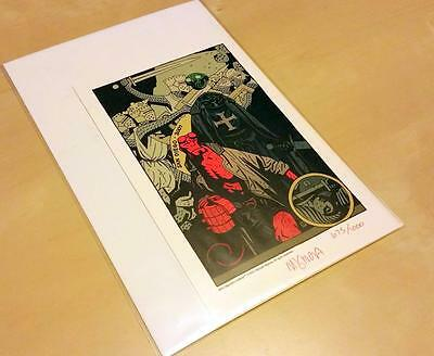 Mignola Hellboy Lithograph Print Signed & Numbered 2007- San Diego Print #675
