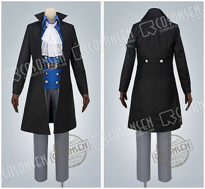 Cosonsen One Piece Sabo Cosplay Costume With Hat Full Set Revised Custom Made