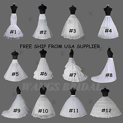 Your choice petticoats and crinolins ships today from USA