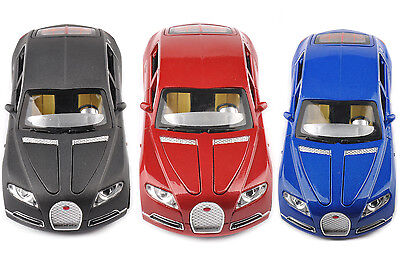 Diecast Bugatti Veyron 16C Galibier Vehicles 1:32 Scale Model Racing Car Toys