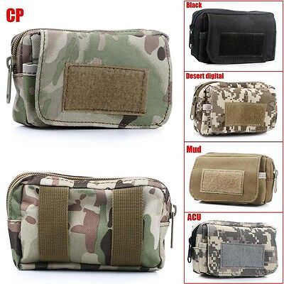Outdoor Waterproof Military Tactical Money Camping Travel Waist Bag Pouch Pack