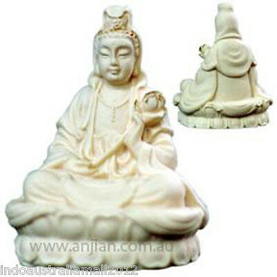Quan Yin Kwan Yin Statue Goddess of Mercy and Compassion (QY006V)
