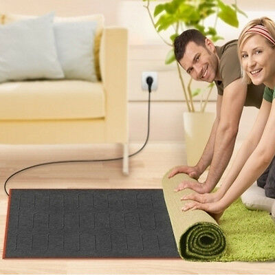Carpet heating in two Sizes 140 x 200 o. 180x280cm Floor heating Heated carpet