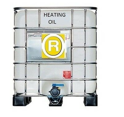 KEROSENE 1000 LITRES IN IBC - HEATING OIL Class 2