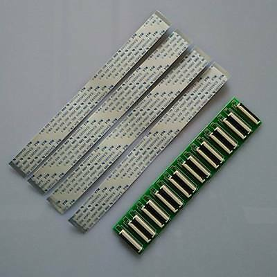 FFC FPC 24 30 40 50 60 pin 0.5mm Pitch Ribbon Cable line ZIF HDD +Adaptor UK